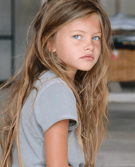 Thylane Blondeau jako dítě
