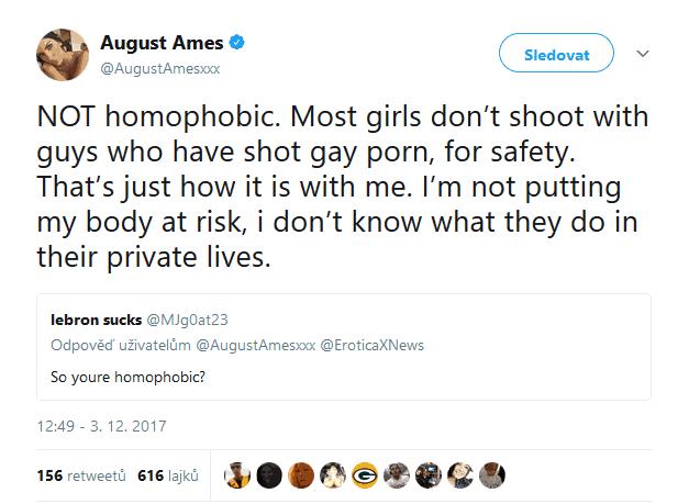 nejsem gay porno