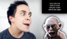 Šíléný mladík dělá ve videu karaoke imitaci známých postav: Jak by zpíval Zeman nebo Glum z Pána Prstenů?