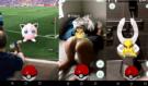 Podívejte na ty nejbláznivější záběry z chytání Pokémon GO: V restauraci, na fotbale nebo při sexu?