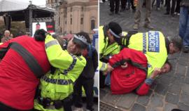 Judo u Městské policie! Strážnici svalili agresivním způsobem muže na zem, sami však chybovali