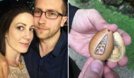 Muž vyrobil své přítelkyni dřevěný přívěšek, rok a půl v něm nosila něco, co ji v životě nenapadlo!