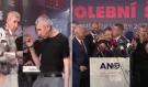 Andrej Babiš rozdával po drtivé výhře polibky a na afterpárty ANO to pořádně rozjel! Podívejte…